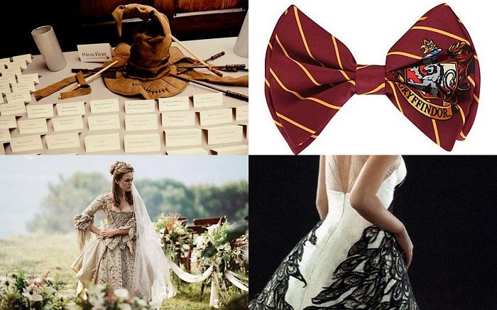 Harry potter wedding dresses  - 123WeddingCards