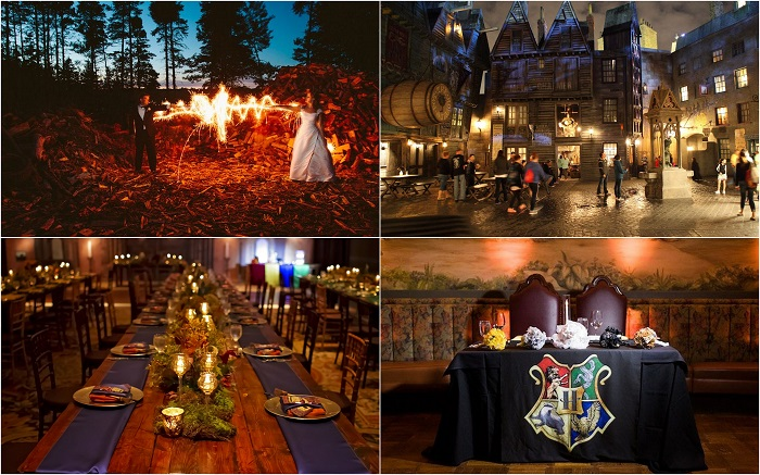 Harry potter wedding venues - 123WeddingCards