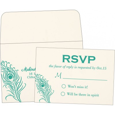 RSVP Wedding Invitations