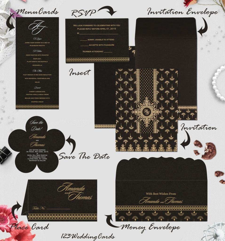 Wedding Day Stationery- 123WeddingCards