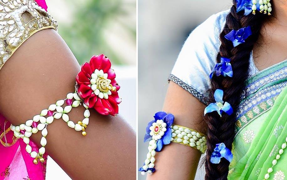 Floral Jewellery| 123WeddingCards