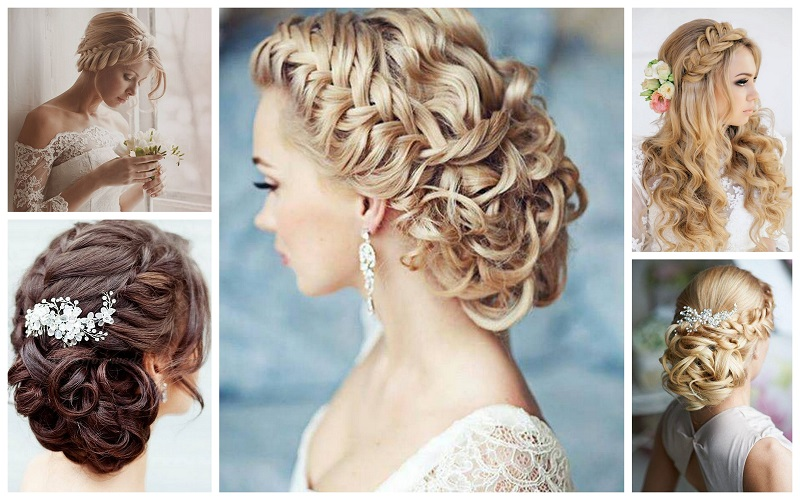 Braided Style Wedding Hairstyle