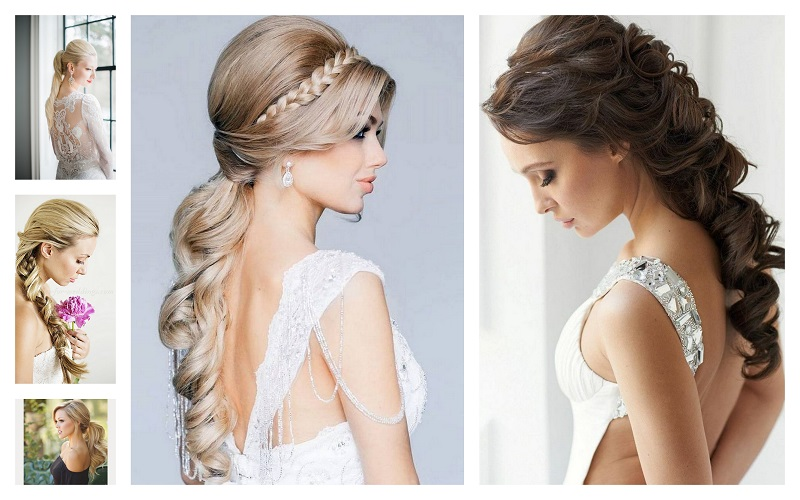 Ponytail Wedding Hairstyle