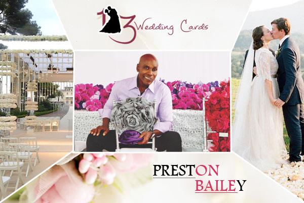 Preston Bailey | 123WeddingCards