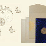 Blue Wedding Card | 123WeddingCards