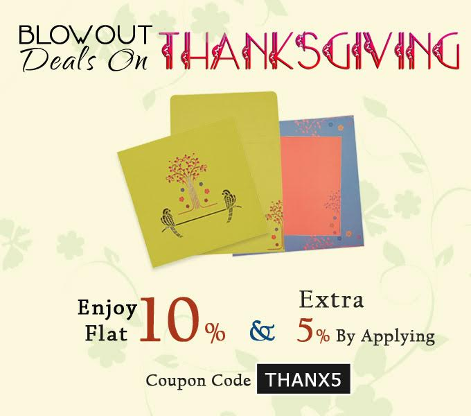 Thanksgiving offers 2016