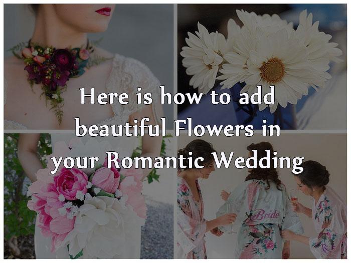 Floral Wedding Ideas - 123WeddingCards