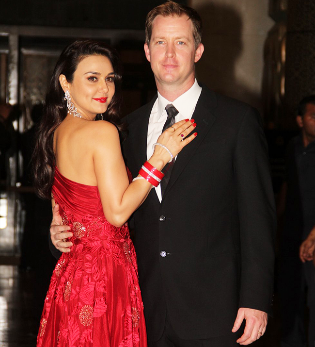 Preity Zinta and Gene Goodenough wedding