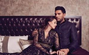 Yuvraj Singh and Hazel Keech wedding