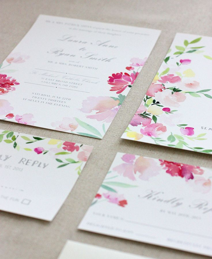 soft washed invites