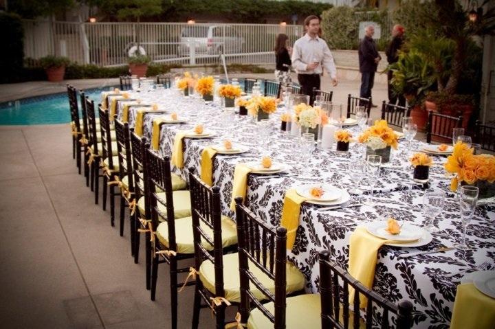 Unique Reception Tables   123WeddingCards