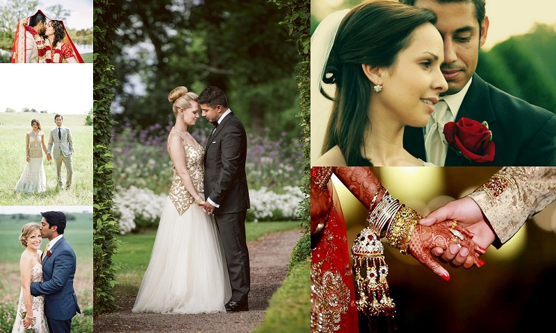 Indian - American Fusion NRI Weddings- 123WeddingCards