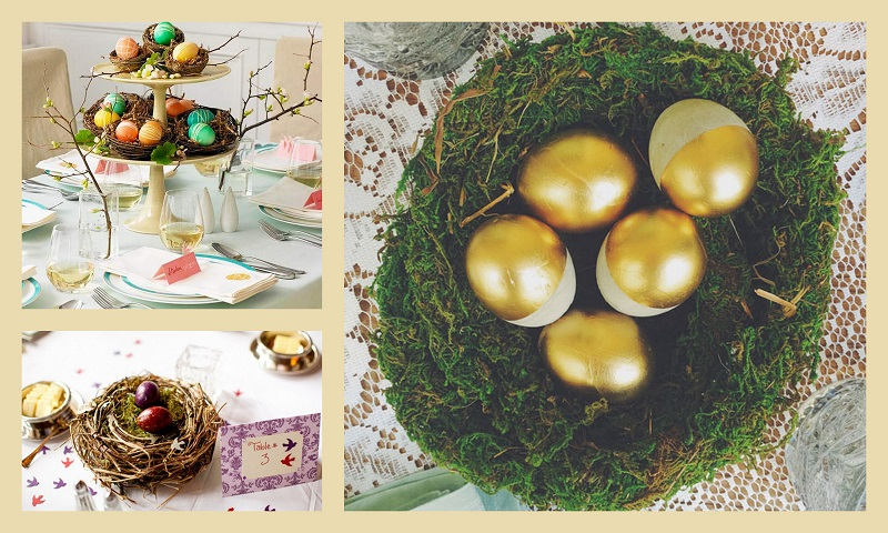 Easter Weddings Table Centrepieces