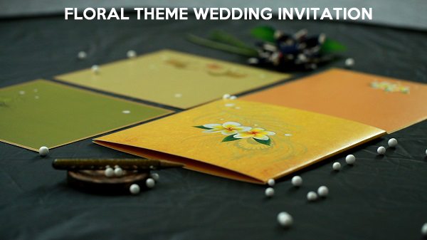 Floral Wedding Invitations - 123WeddingCards