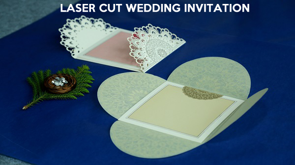 Laser Cut Wedding Invitations - 123WeddingCards