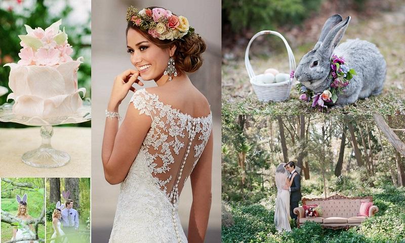 Spring and Easter Wedding Ideas @123WeddingCards