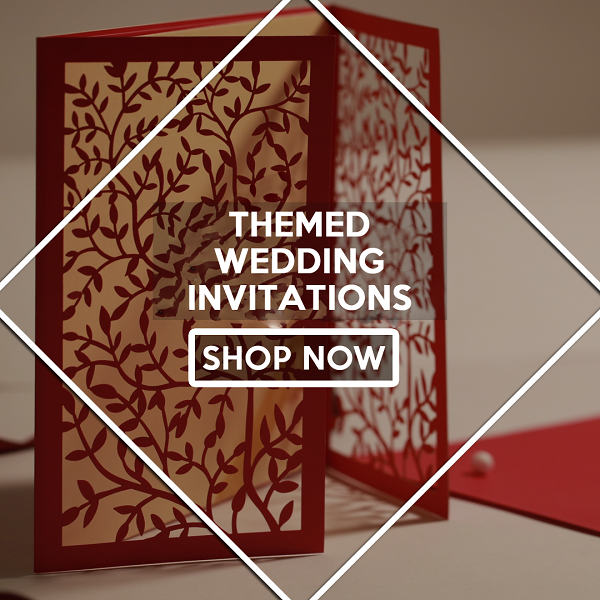 Themed Wedding Invitations - 123WeddingCards