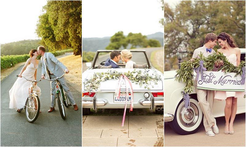Spring-wedding-transportation-ideas---123WeddingCards