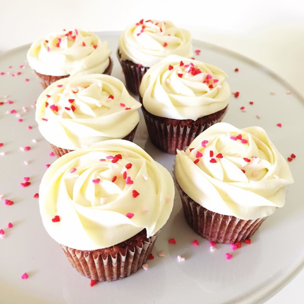 savoury red-velvet cupcakes - 123WeddingCards