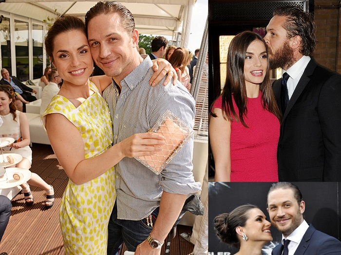 Tom Hardy &Charlotte Riley - 4th Of July Wedding - 123WeddingCards
