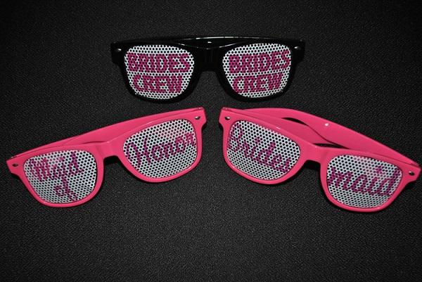 designer sunglasses - wedding favors