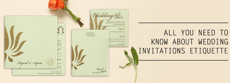 What Is The Etiquette For Wedding Invitations: Top 5 Wedding Invitations Etiquette Questions Answered