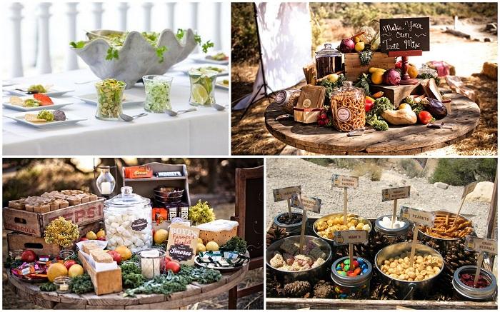 variety of cuisines - 123WeddingCards