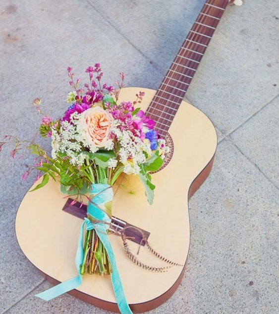7 Amazing Wedding Ideas That Are Meant For Music Lovers