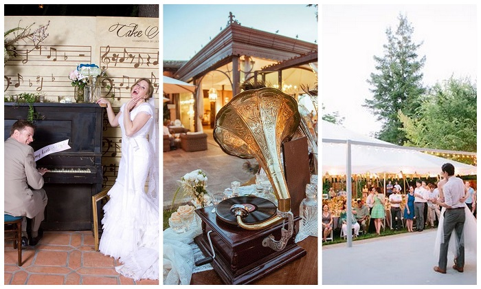 Musical theme wedding venues