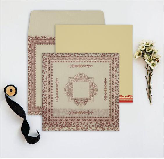 Traditional wedding invitations - 123WeddingCards