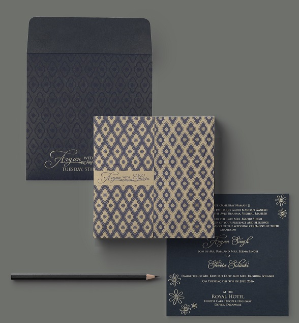 Affordable wedding invitations - 123WeddingCards