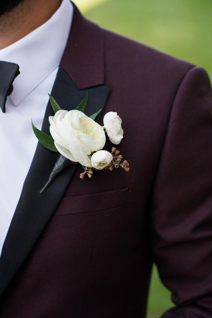 Burgundy Wedding Suits