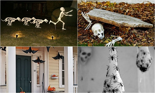 haloween wedding outdoor decoration
