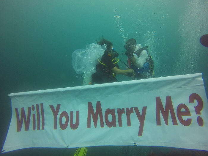 Under the waters proposal