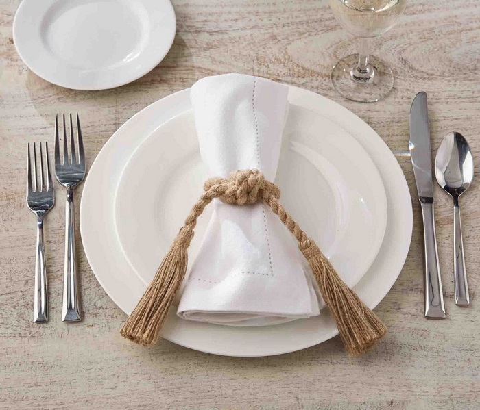 bells around the napkins