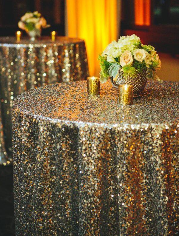 golden-tablecloth