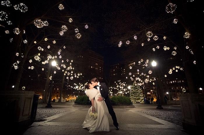 new year wedding backdrop