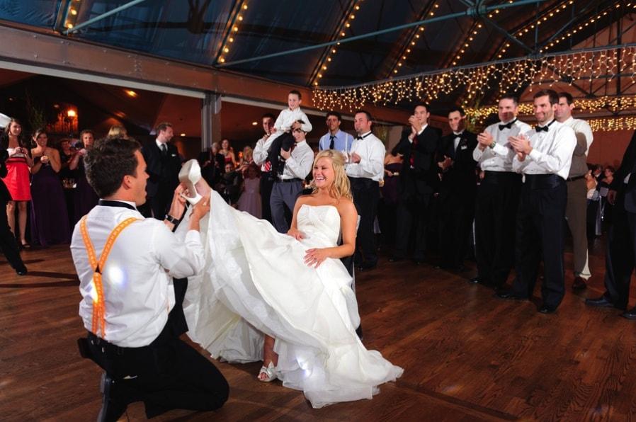 Wedding Garter Tradition - 123WeddingCards