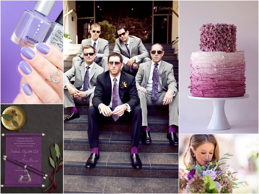 Color Palettes Combinations - 2018 - Lavender and Lilac