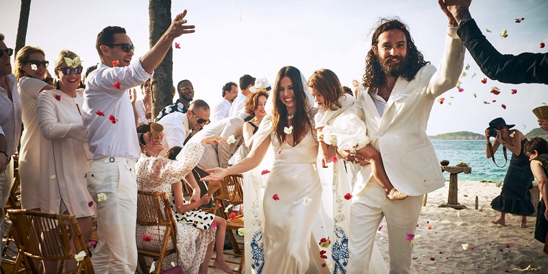 Ally Hilfiger and Steve Hash wedding