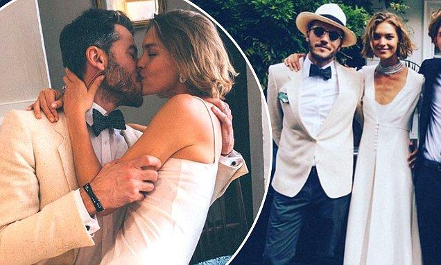 Arizona Muse and Boniface Verney-Carron wedding