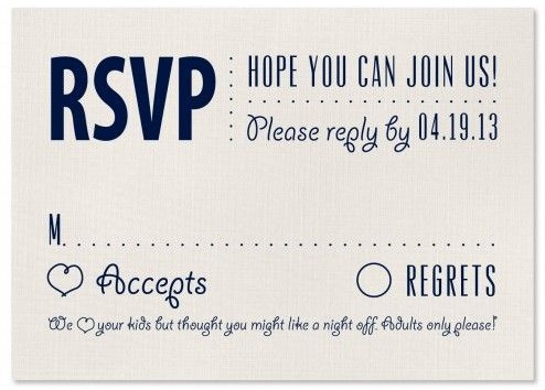 Kids Invited or Not Text in Invitations