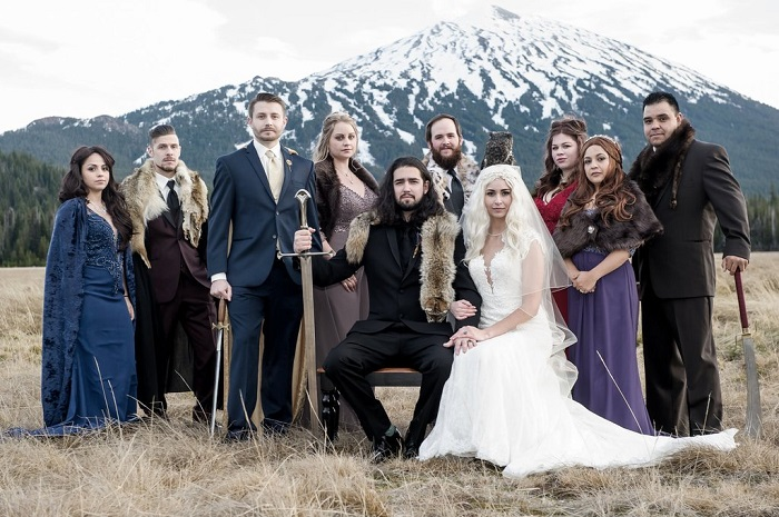 Purple Wedding A Game of Thrones Inspirations