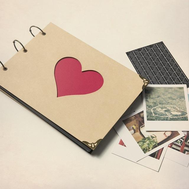 Romantic Scrapbook as a Gift