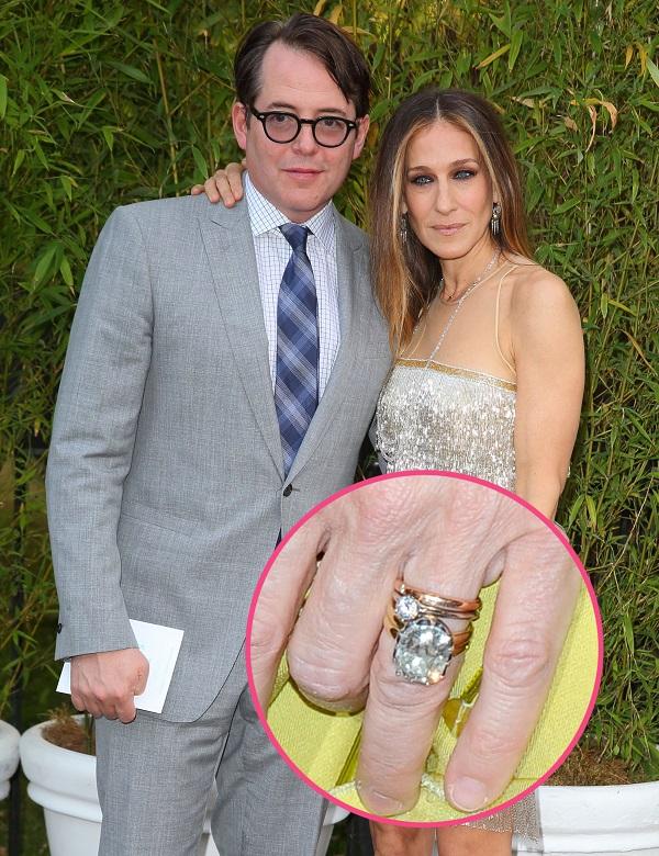 Sarah Jessica Parker & Matthew Broderick engagement ring