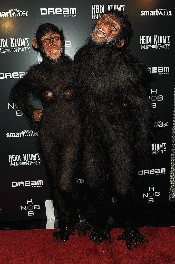 halloween dress of Heidi Klum and Seal's in 2011