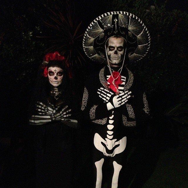 halloween dress of Josh Duhamel and Fergie in 2013