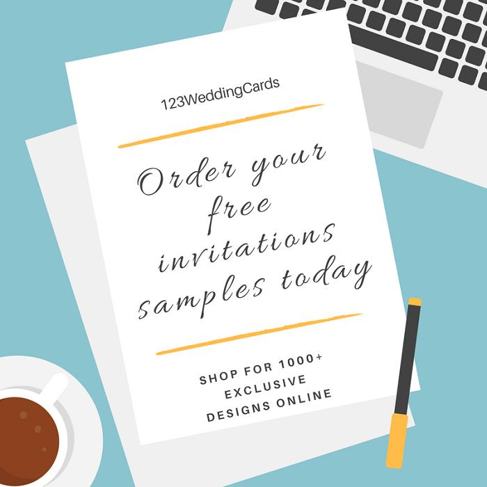 Wedding Invitations Samples Order Adjustment - 123WeddingCards