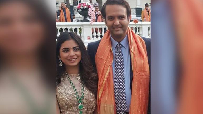 Anand Piramal weds Isha Ambani