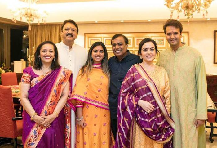 Isha weds Anand
